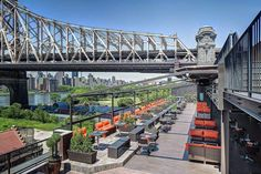The NYC Rooftop Bars Where You Need to Spend Your Summer; this is Penthouse 808 in Long Island City
