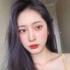 Korean Makeup Look, Ulzzang Makeup, Korea Makeup, Ulzzang Korean Girl, Cute Girl Face, Minimal Makeup, Aesthetic Makeup, Everyday Makeup, Woman Face