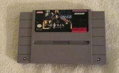 Batman Returns Super Nintendo SNES