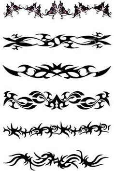 tribal armband tattoos | Tattoo Gallery Designs Tribal Armband