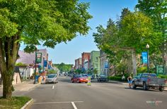 Main Street in Penn Yan, mother was born here...cute town!