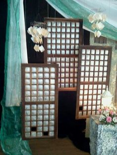 Backdrop Wedding Decorations, Christmas Decorations, Holiday Decor, Paskong Pinoy, Filipiniana Wedding Theme, Wedding Trends, Wedding Ideas, Filipino Wedding, Class Decoration