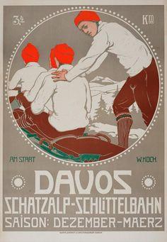 Davos Schatzalp-Schlittelbahn