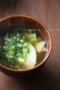筍のお味噌汁。