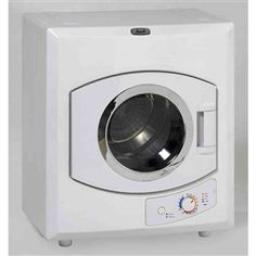 This 110-Volt Automatic Electric Dryer with Stainless Steel Drum can be wall mounted, vented or recirculating, manual timer and stainless steel drum. Also, it has a viewable window door. 110-Volt A…