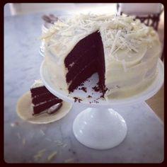 Tårta som fotomodell...
