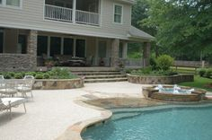 Pea Gravel Decking And Pools On Pinterest