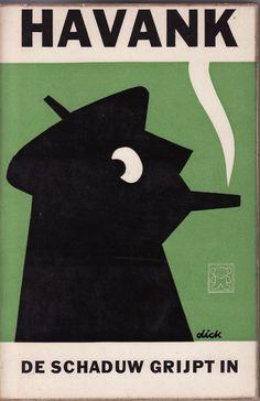 vintage book cover zwarte beertjes