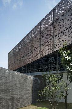 Renovação da Sala de Chá no Parque ChenJiaShan / Atelier Liu Yuyang Architects http://www.archdaily.com.br/br/759846/renovacao-da-sala-de-cha-no-parque-chenjiashan-atelier-liu-yuyang-architects