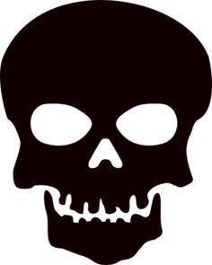 Skull Clipart For Stencils | Clipart Panda - Free Clipart Images