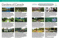 The 2017 feature of Gardens of Canada in Garden Making magazine. The Canadian Garden Council encourages you to visit one of these spectacular gardens. Toronto Gardens, Make Time, How To Make, Botanical Gardens, Indoor Plants, Vancouver, Canada, Summer, Inside Plants