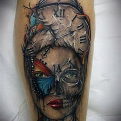 Amazing tattoo. Avoir du talent comme ça, je me le ferais faire n'importe quand !