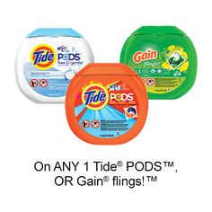 P&G Everyday - P&G Coupons, Product Information, Household Tips, and More! 3 Online, Online Coupons, Tide Pods, Printable Coupons, Calgary, Travel Size Products, Amp, Simple, Fabric