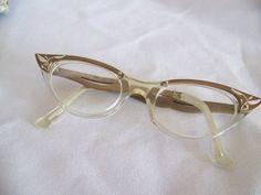 Nifty Fifties Cateye Glasses