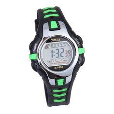 5 Colors Waterproof Children Boy Digital LED Watch Kids Swimming Sports Wrist Watch Boys Girls Clock Child Gift