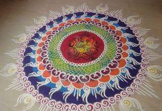 How to Make Sanskar Bharti Rangoli