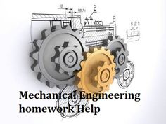 #MechanicalEngineeringhomeworkHelp All the mentors of My Help are well educated from world's top college and have long years of experience in the relevant industry. Due to their experience and expertise, our online tutors can deal with any problem of mechanical engineering. Reach us now with your homework problems we love to hear from you.