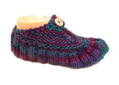 Knit slippers, Travel Pocket Slipper Socks,  slippers
