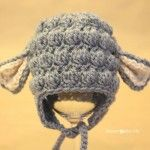 15 Free Crochet Patterns for Newborn Photography Props | Winding the Skein