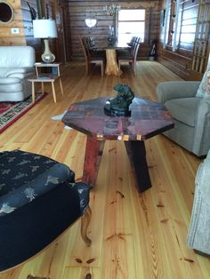 New Heart Pine Flooring! Heart Pine Flooring, Pine Floors, Log Cabin Siding, New Heart, Poker Table, Southern, Dining Table, Cottage, Alabama