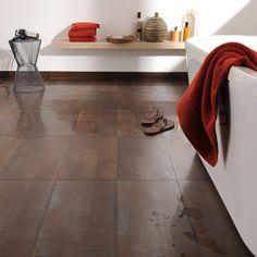 Carrelage sol brun- flooring main
