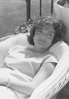 Jackie Kennedy, 1959 Photo: Photofest; Library of Congress