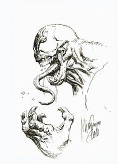 Venom Drawings Venom Pencil Drawings Daily Sketch Venom By