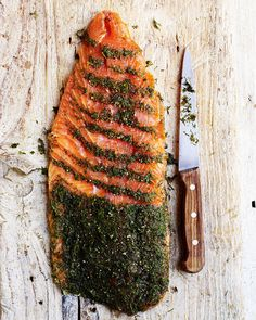 Whisky-cured sea trout on cream cheese and pumpernickel with apple salad recipe Trout Recipes, Seafood Recipes, Appetizer Recipes, Appetizers, Smoked Trout, Smoked Salmon, Apple Salad Recipes, Onion Relish, Baked Fish