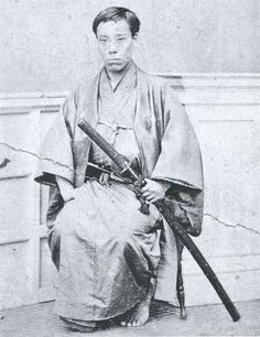 Takasugi Shinsaku (高杉 晋作 27 September 1839 – 17 May was a samurai from the Chōshū Domain of Japan who contributed significantly to the Meiji Restoration.He used the alias Tani Umenosuke (谷梅之助) to hide his activities from the shogunate. Samurai Weapons, Samurai Warrior, Japanese History, Asian History, Old Pictures, Old Photos, Era Meiji, Geisha, Japanese Warrior