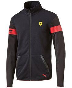 7c241882a Puma Men s Ferrari Track Jacket   Reviews - Hoodies   Sweatshirts - Men -  Macy s