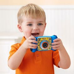 Educational Toys For 4 Year Olds 5 6 7 8 VTech Camera Blue #VTech