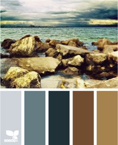 1000 images about blue color palettes on pinterest design seeds color palettes and hue - Brown and blue paint combinations ...