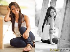 Love the first pose for senior pictures. Not too common, not too simple. Very classy.