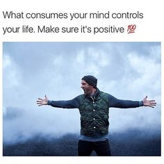 If you feed your mind negative self-talk and angry thoughts you most likely aren't creating positive outcomes. Your ideas create your reality so make sure to express gratitude daily dream big and think kindly towards others  . .  Via: @lewishowes  Photo Credit: @nickonken  #success #motivation #passion #mindset #entrepreneurs #startups #startupgrind #entrepreneurmindset #inspirationalquotes #belegendary #quote #quoteoftheday #goodvibes #quotes #inspire #dedication #goals #hustle #life…