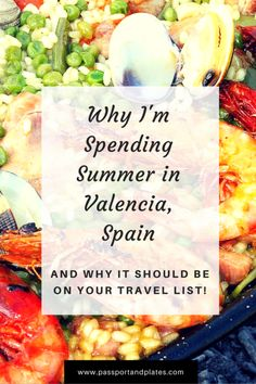 If you're curious about why I'm spending the summer in Valencia, Spain, and… Europe Travel Guide, Travel List, Spain Travel, Travel Destinations, Food Travel, Portugal Travel, Travel Guides, European Destination, European Travel
