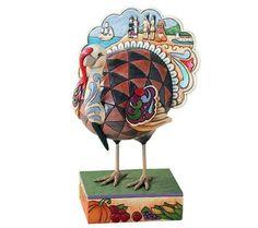 Jim Shore Heartwood Creek Turkey Figurine — QVC.com