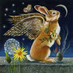 FOR THE BEST BUNNY BOY I´VE EVER KNOWN ❤️BENJI❤️ FLY FREE LITTLE ANGEL❤️ (Janie Olsen ~ Sweet Angel Bunny)