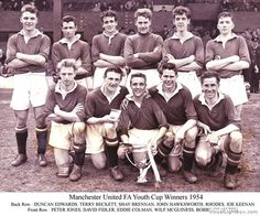 FA Youth Cup Winners 1954