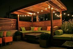 Amazing Modern Pergola Patio Ideas for Minimalist House. Many good homes of classical, modern, and minimalist designs add a modern pergola patio or canopy to beautify the home. Backyard Gazebo, Rooftop Patio, Backyard Seating, Backyard Patio Designs, Backyard Projects, Outdoor Seating, Outdoor Rooms, Backyard Landscaping, Outdoor Living