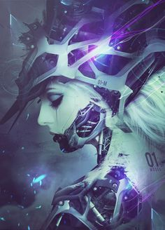 SINGULARITY by soufiane idrassi via Behance #scifi #android