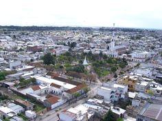 Vista aérea, Punta Alta, Argentina