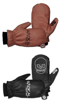 RADICAL GLOVES RANCH HAND MITTEN 2016 The Ranch Hand was Originally a limited edition glove for the 2015 season it has been so popular Rad brought it back for 2016. It is made from full cow hide leather known for its strength and durability while still being soft. The result is a soft great looking glove with excellent warmth and waterproofing thanks to its 10k insert. #snowboard #womensnowboardmittgloves #radicalranchhandsnowboardmittgloves2016 #colourchocolateyawgoonsblack