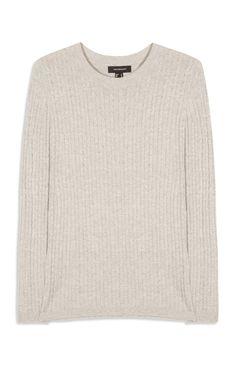 Grey Knit Jumper, no info