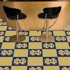 Notre Dame Fighting Irish Carpet Tiles Flooring