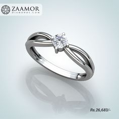 Alana 4 Prong Solitaire Ring