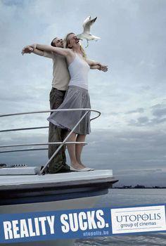 Utopolis, Group of cinemas: Titanic Ad  #ads #advert #utopolis