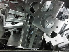 Brackets manufactured in the UK to your designs - Press Brake Tooling, Cnc Press Brake, Types Of Sheet Metal, Sheet Metal Work, Aluminum Sheet Metal, Aluminium Sheet, Sheet Metal Fabrication, Laser Cutting Machine, Lighting Companies