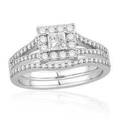 Ecoura%u2122 Collection Diamond Bridal Set 1ctw - Item 19097997   REEDS Jewelers
