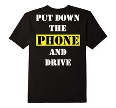 #Motorcycle Safety Put Down The Phone #harleydavidson #tshirt  #motorcyclesafety #bdcs  http://amzn.to/2a3Df7l