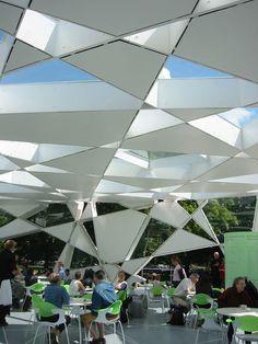 Pavilhão da Galeria Serpentine, em Londres